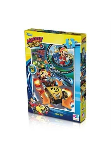 KS Puzzle KS Puzzle MCH709 Mickey Mouse Temalı 50 ParÇa Çocuk Puzzle Renkli
